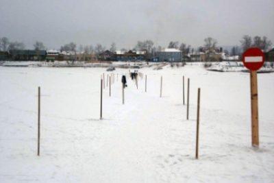 В Кузбассе закрыли все ледовые переправы