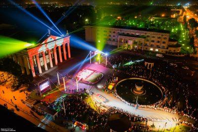 Фото, видео: В Новокузнецке дали обратный отсчёт до 400-летия города