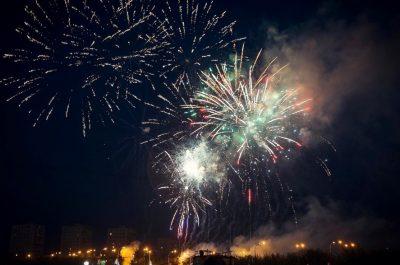 В Кемерове главный фейерверк в честь Дня Победы продлится восемь минут