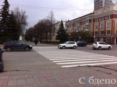 ГИБДД вновь проверяет законность появления «Зебры» в центре Кемерова