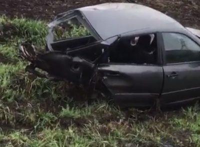 Тройное ДТП в Кузбассе: одну «легковушку» разорвало пополам