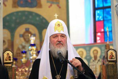 Патриарх Кирилл сравнил мобильную сеть с духовным миром