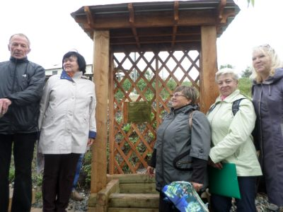 В Кемерове открыли благоустроенный родник