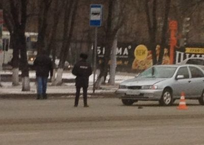 В Кемерове на проспекте Ленина сбили двух женщин