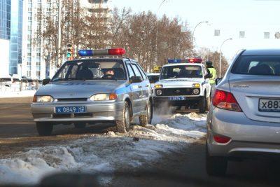 Кемеровские водители получили штрафов на 550 тысяч рублей за грязные номера