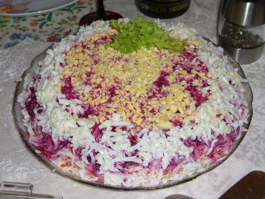 Саратовская область оказалось на6-м месте рейтинга «селедки под шубой»