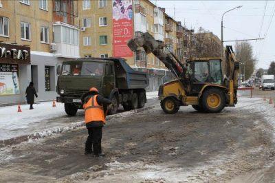 За последние сутки с улиц Кемерова вывезли 160 кубометров снега