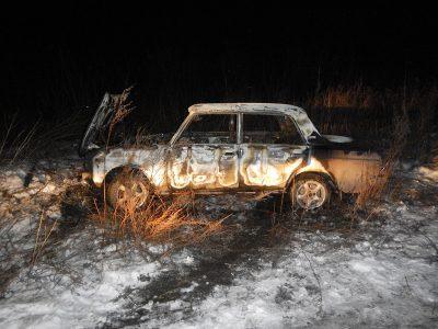 В Кузбассе полиция задержала поджигателей машин