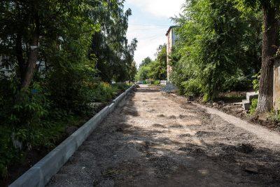 В мэрии Кемерова рассказали, где ведутся работы по благоустройству города