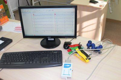 В поликлинике Кемерова установили современный электрокардиограф