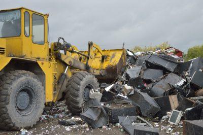 Кузбасская полиция уничтожила крупную партию игровых автоматов
