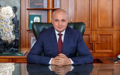 В Telegram появился набор стикеров с губернатором Кузбасса