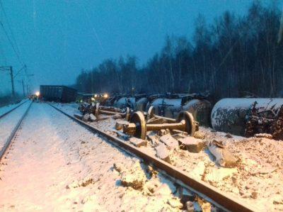 Жёсткая жд авария под Омском спровоцировала большую задержку поезда Москва-Новокузнецк