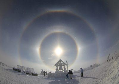 Необычное природное явление в небе над Кузбассом сняли на видео