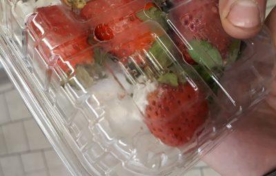 «Что ты такое?»: кузбассовец нашёл ужасный сюрприз в упаковке с клубникой