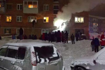 Жители новокузнецкой многоэтажки экстренно эвакуировались