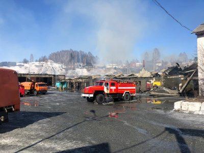 500 квадратов: названа причина страшного пожара в Шерегеше