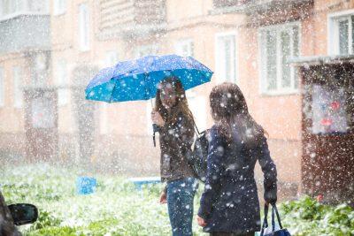 На Кузбасс снова обрушится шторм