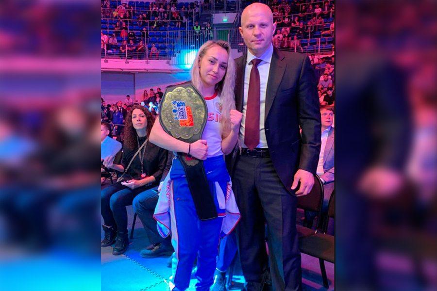 Спортсменка из Кузбасса стала чемпионкой России по ММА