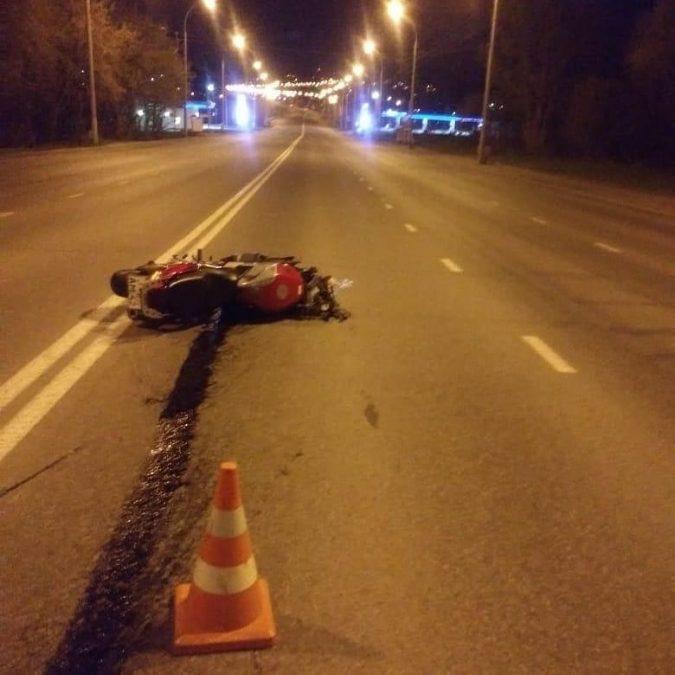Смертельное ДТП в центре Кемерова: мотоциклист сбил пешехода