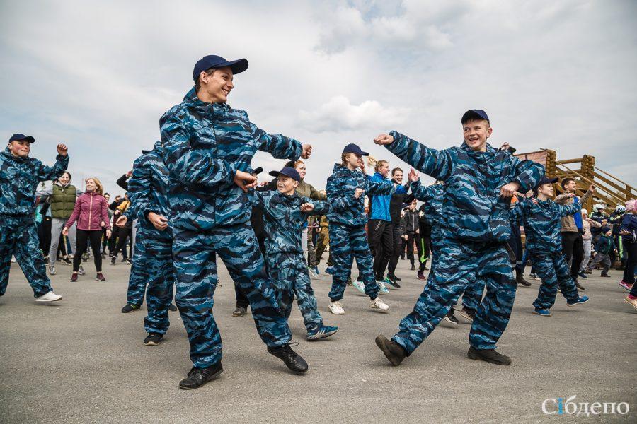 Фоторепортаж: как в Кемерове прошла массовая зарядка с полицией