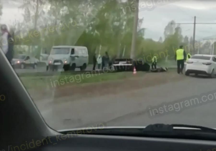 Намотало на столб: подробности страшного смертельного ДТП в Кемерове