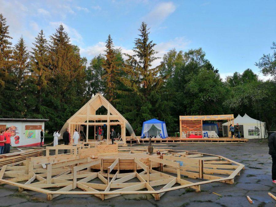 В парке «Антошка» стартовал большой летний фестиваль