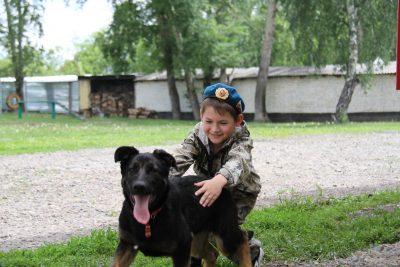 Фото: кемеровчане исполнили мечту восьмилетнего мальчика