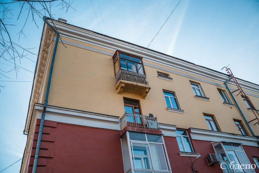 Кемеровчанин разбился насмерть, упав с девятого этажа
