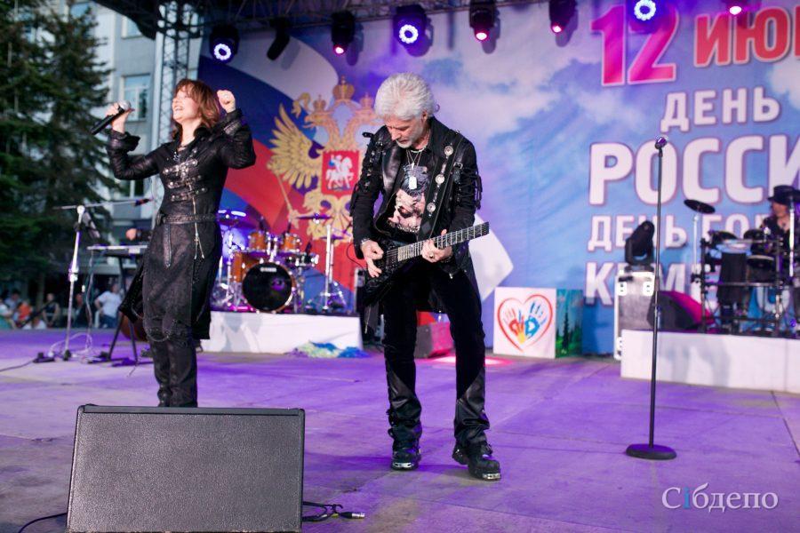 В Кемерове проходит праздничный концерт