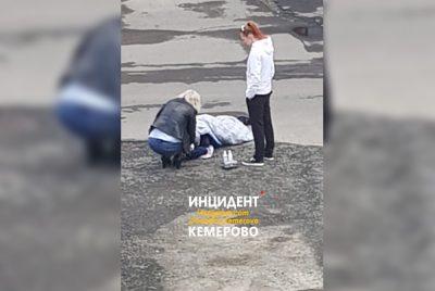 Соцсети: в Кемерове на улице мужчине пробили голову