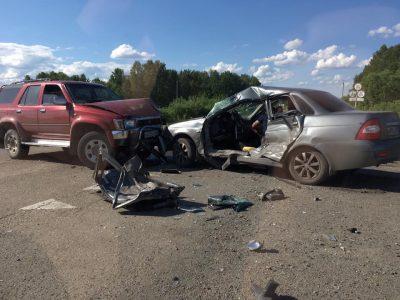 Фото: на кузбасской трассе произошло смертельное ДТП