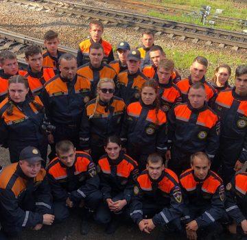 Кемеровских студентов отправили в зону бедствия