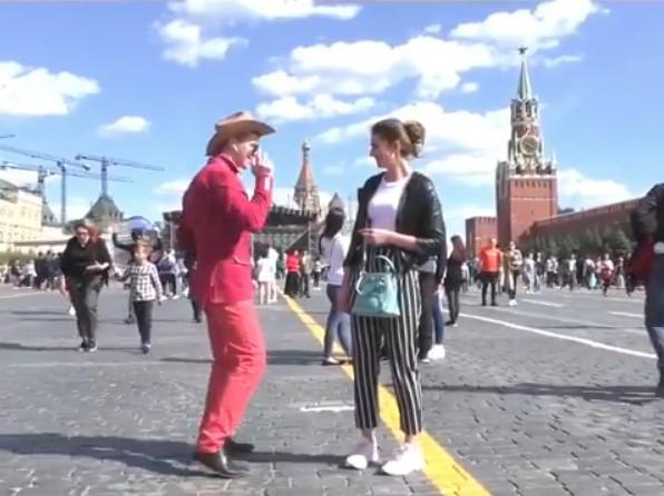 Видео: кузбасский блогер пугал москвичей странными танцами