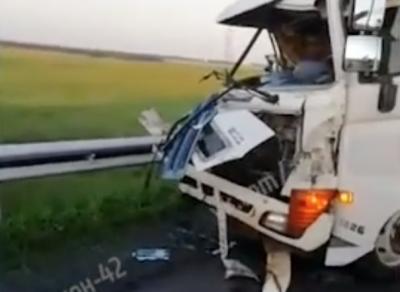 Видео: смертельное ДТП на кузбасской трассе