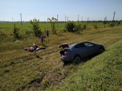 Фото: семья с детьми из Кемерова попала в ДТП в Самарской области