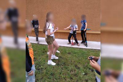 Фото: в Кемерове маленькому ребёнку угрожали ножом в собственном дворе