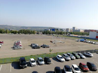 Фото: в центре Кемерова вновь монтируют концертную площадку