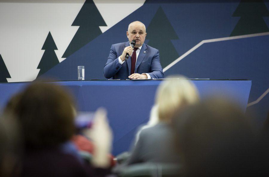 Сергей Цивилев рассказал, намерен ли переехать в Москву