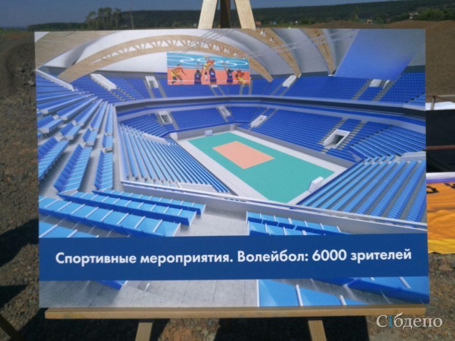 Фото: как обустроят спорткомплекс за миллиарды рублей в Кемерове