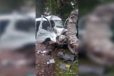 Фото, видео: в Кузбассе автомобиль въехал в теплотрассу