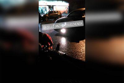 В Кузбассе женщина попала в больницу из-за дождя