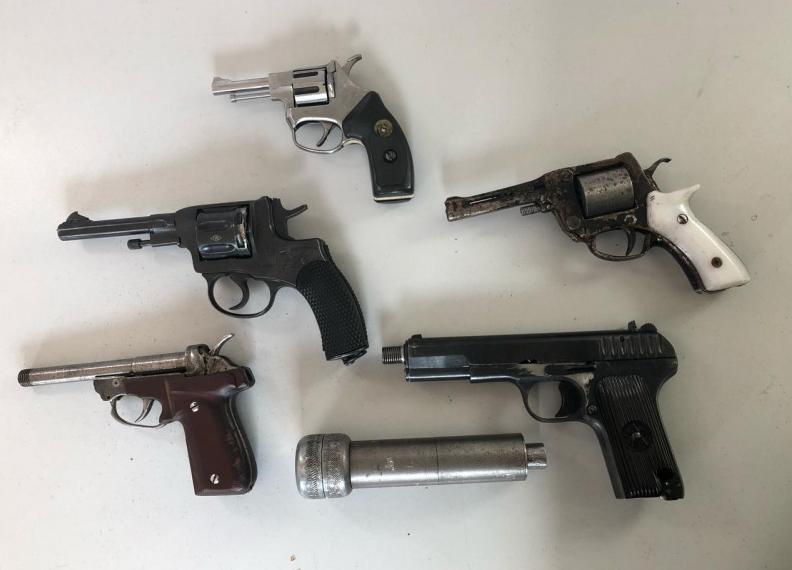 Житель Кузбасса попался на производстве огнестрельного оружия