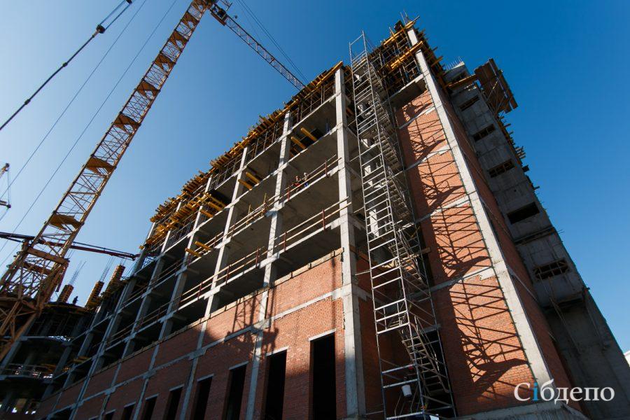 Фоторепортаж: как продвигается строительство Восьмого кассационного суда в Кемерове