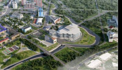 Стало известно как будет выглядеть культурный кластер в Кемерове