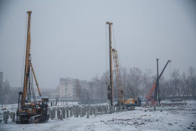 Как идёт строительство культурно-образовательного комплекса в Кемерове