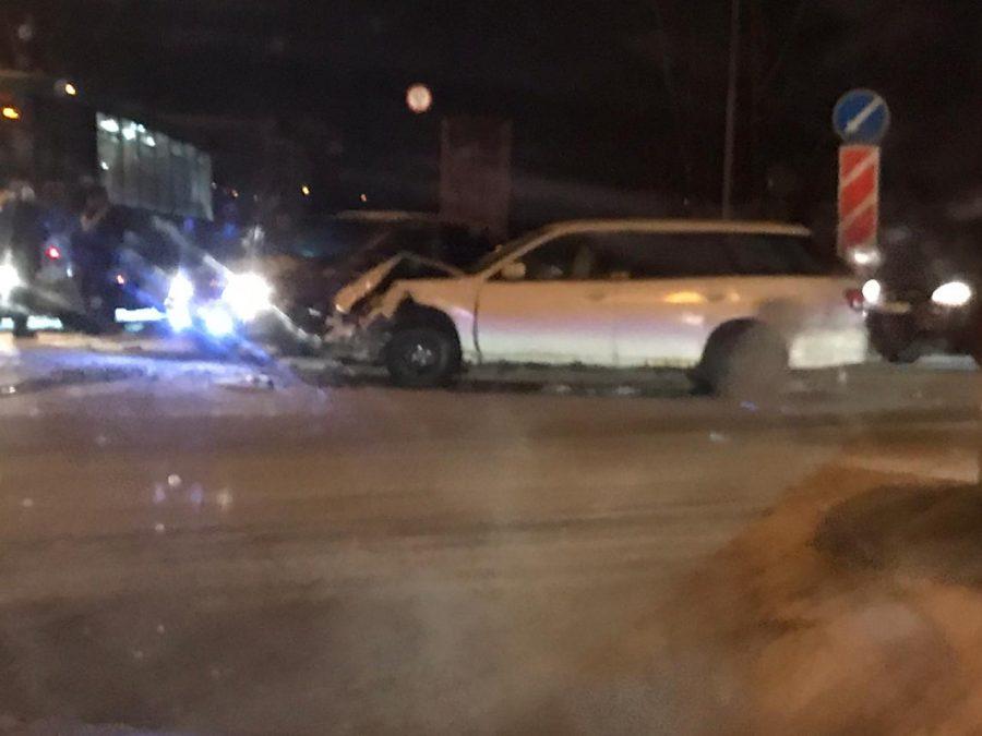 Из-за ДТП в Кемерове образовалась огромная пробка