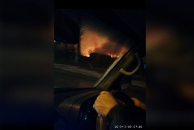 В Кузбассе из жилого барака спасли женщину