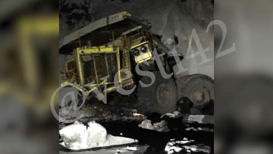 В Кузбассе БелАЗ сорвался с высоты: комментарий прокуратуры