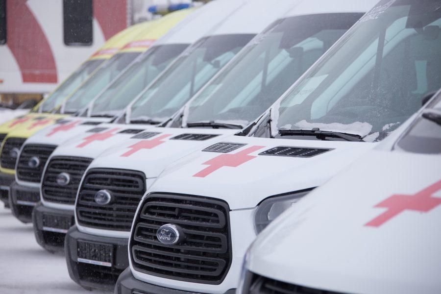 Медицинский автопарк Кузбасса пополнился новыми автомобилями